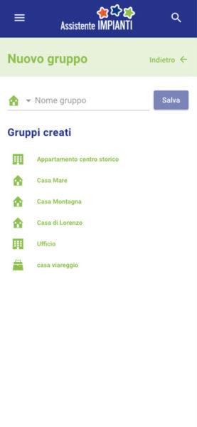 Elettroimpianti GF Assistente Impianti Sezioni Nuovo Gruppo